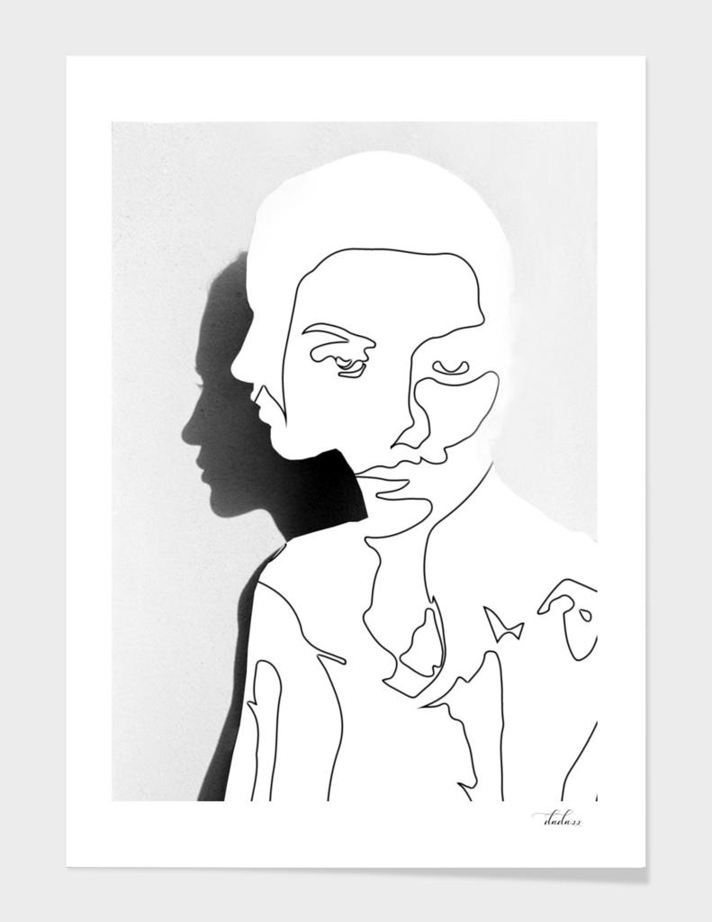 Portrait (Line Drawing )