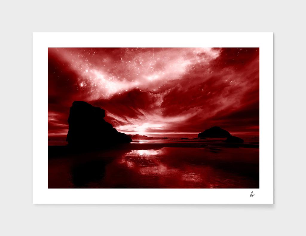 Red Ocean Rock