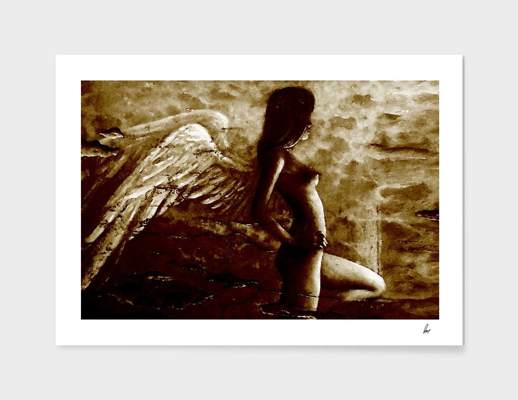 Angel Wings Deep Brown
