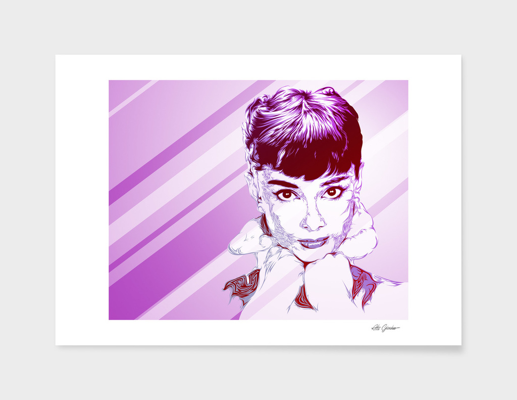 Audrey Pop Art