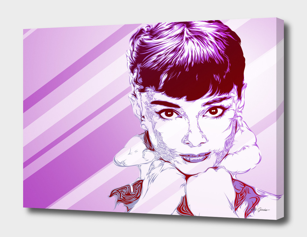 Audrey Pop Art