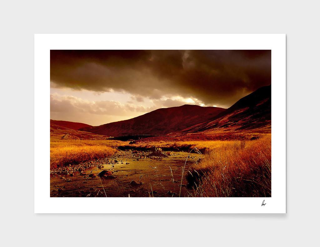 Scottish Highlands Rust River
