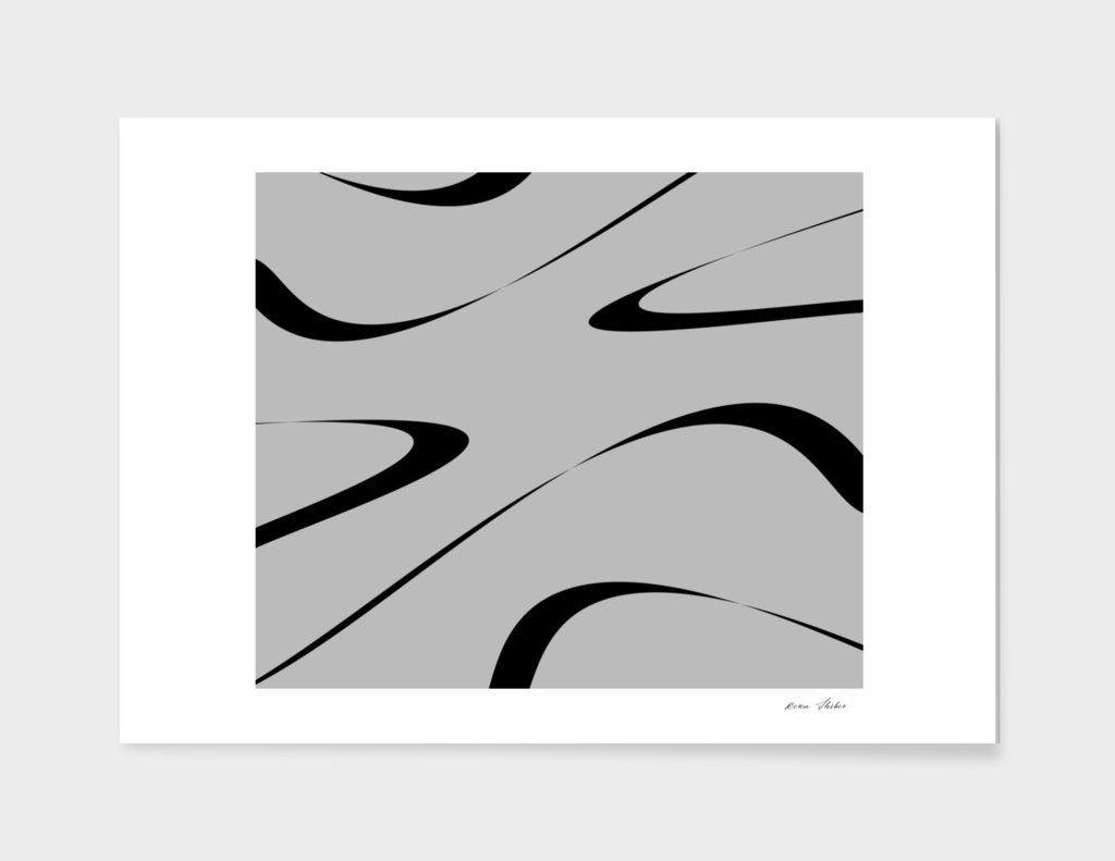 Abstract - black  and gray.