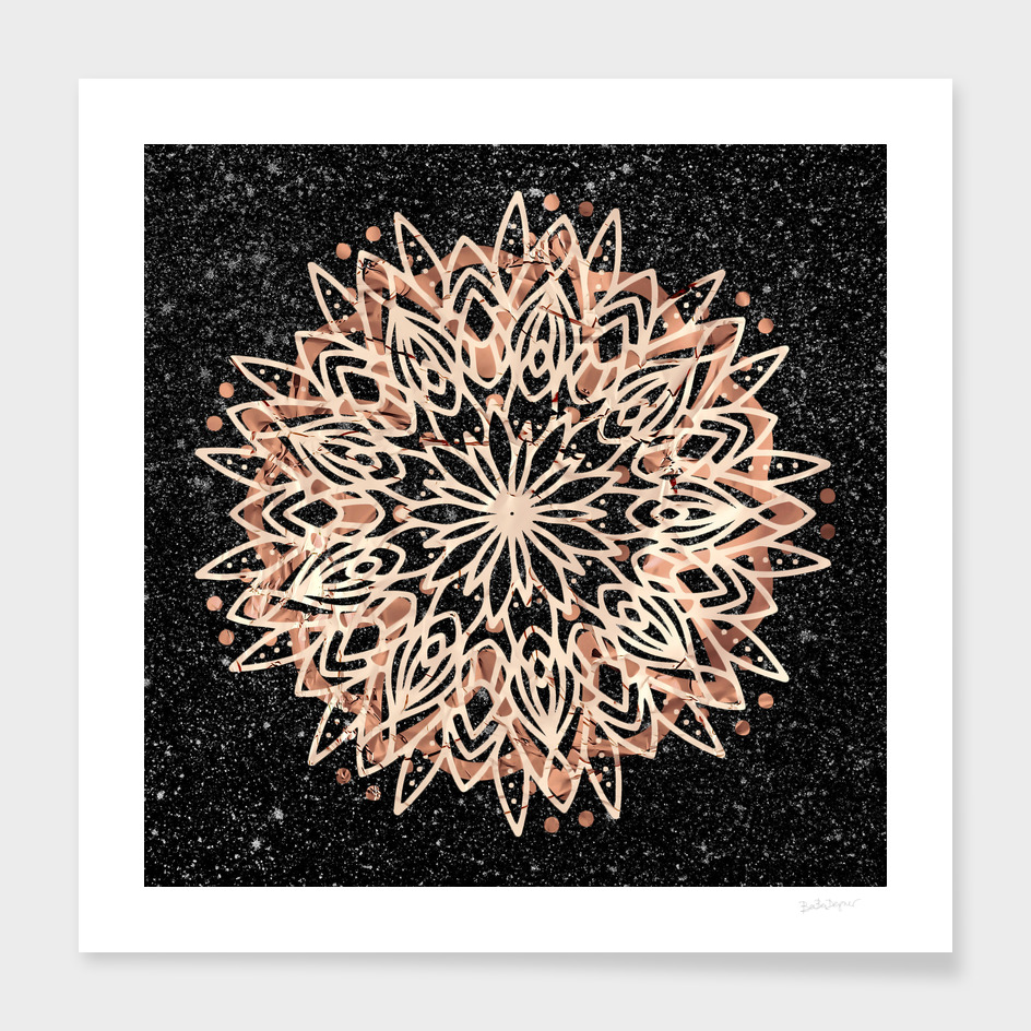 Metallic Mandala