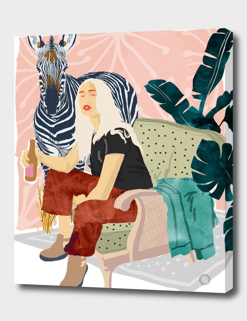 Zebra Hangout