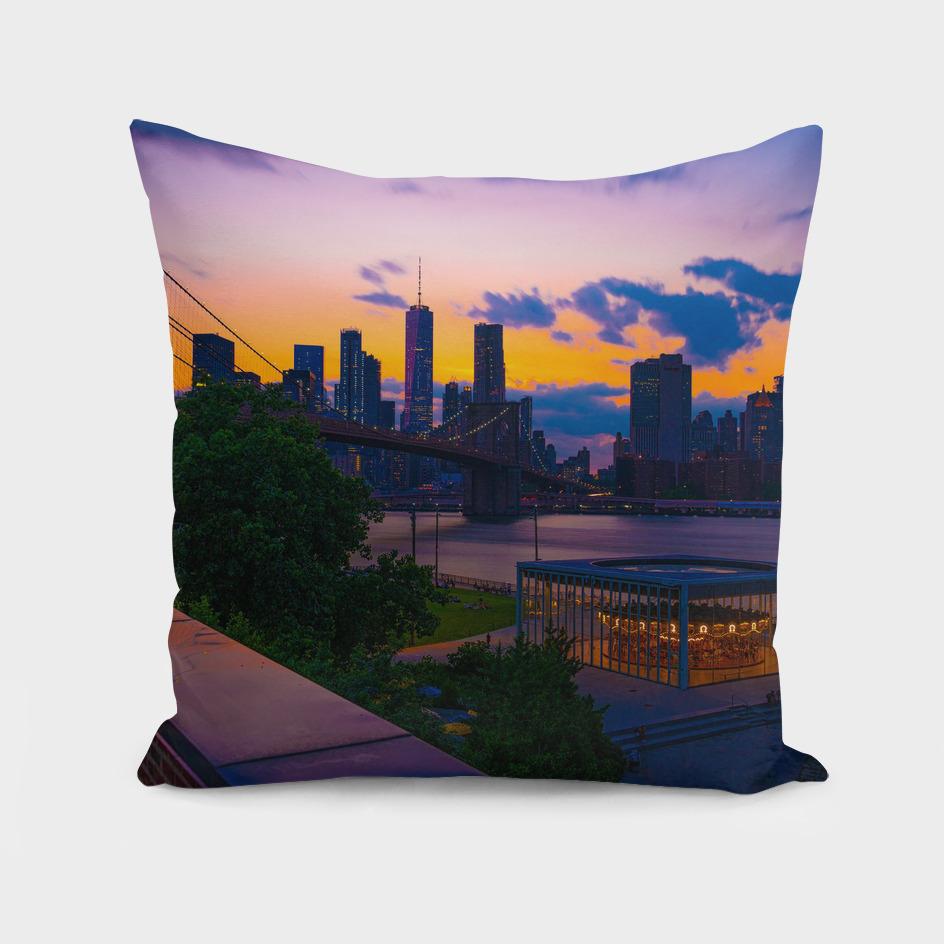 Lovely New York City Sunset