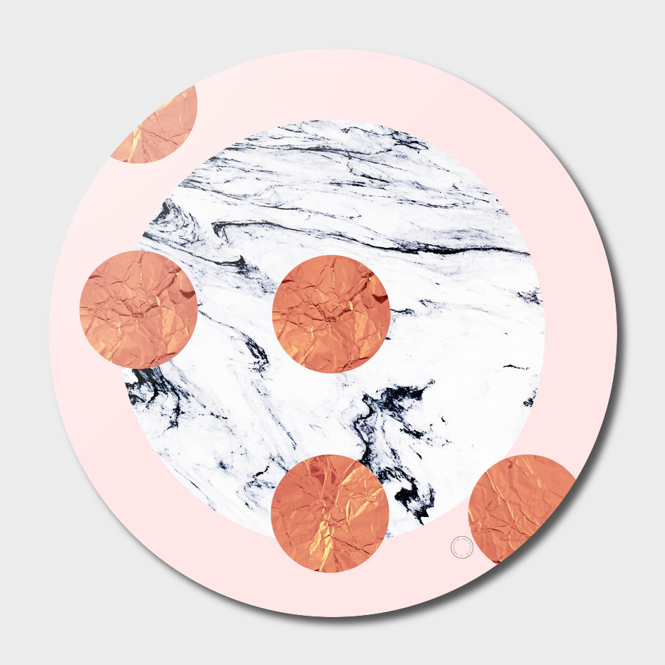 Marble + Pink + Copper