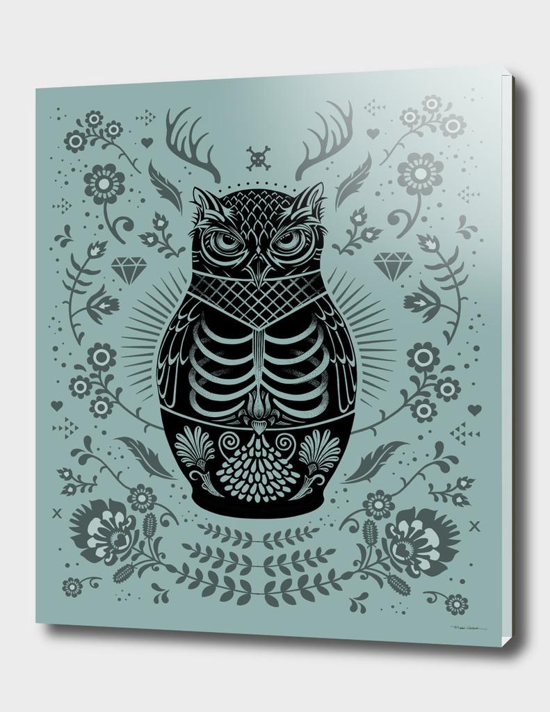Owl Nesting Doll (Matryoshka)