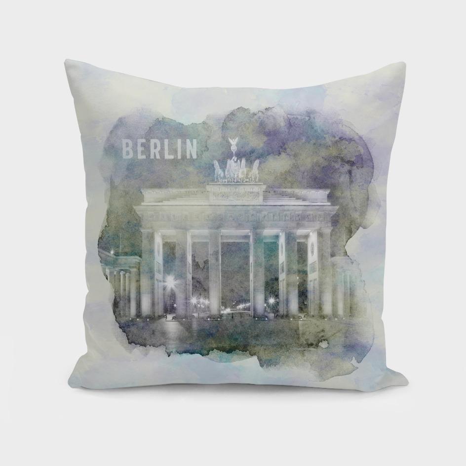 BERLIN Brandenburg Gate | watercolor