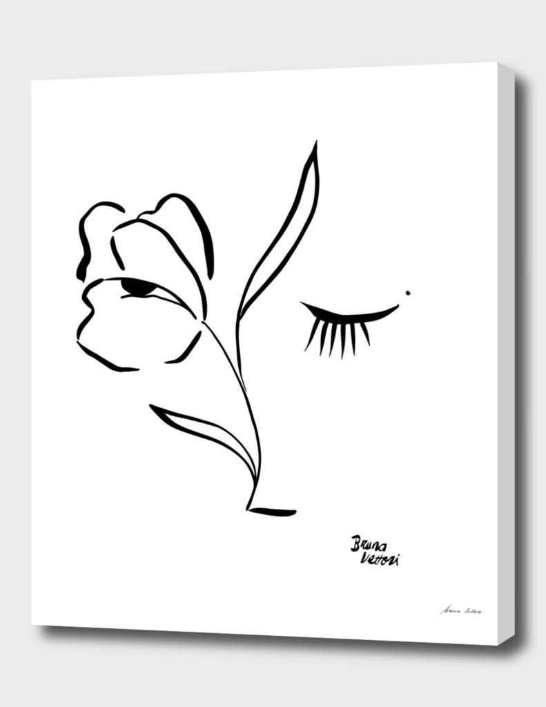 Como flor