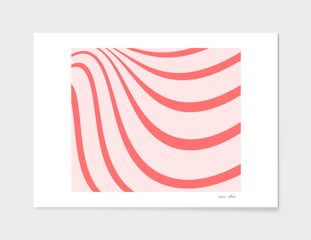 Abstract - pink.