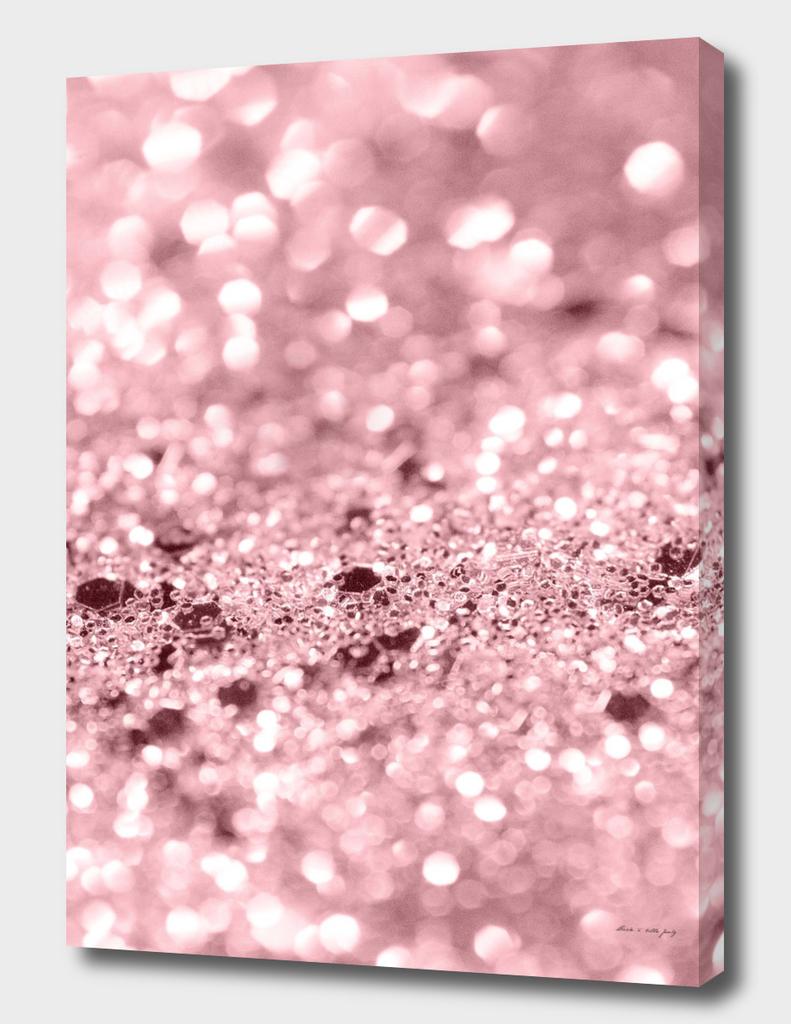 Rose Gold Blush Girls Glitter #1