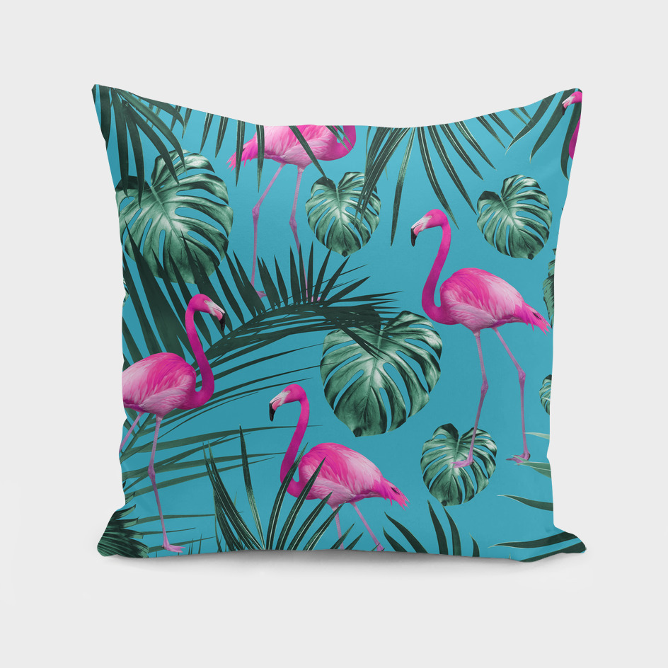 Tropical Flamingo Pattern #4