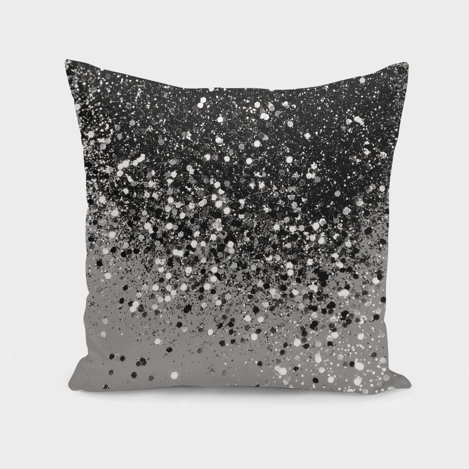 Silver Gray Glitter #1