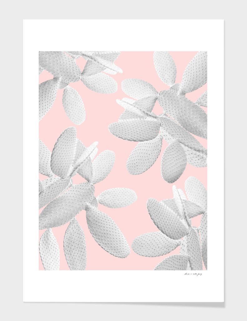 White Blush Cacti Vibes #2