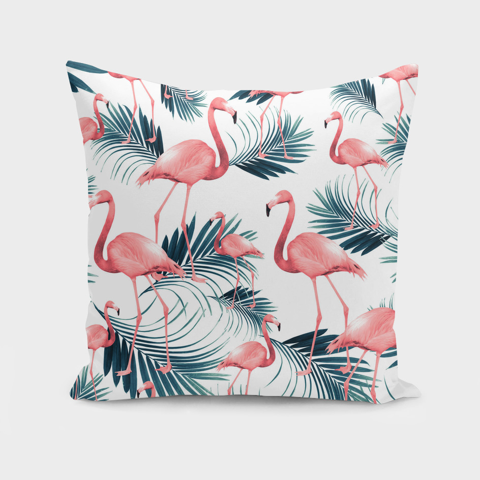 Summer Flamingo Palm Vibes #1