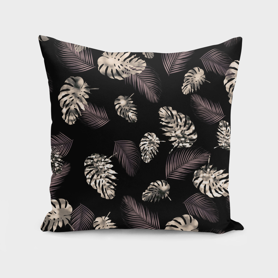 Tropical Monstera Palm Pattern #1