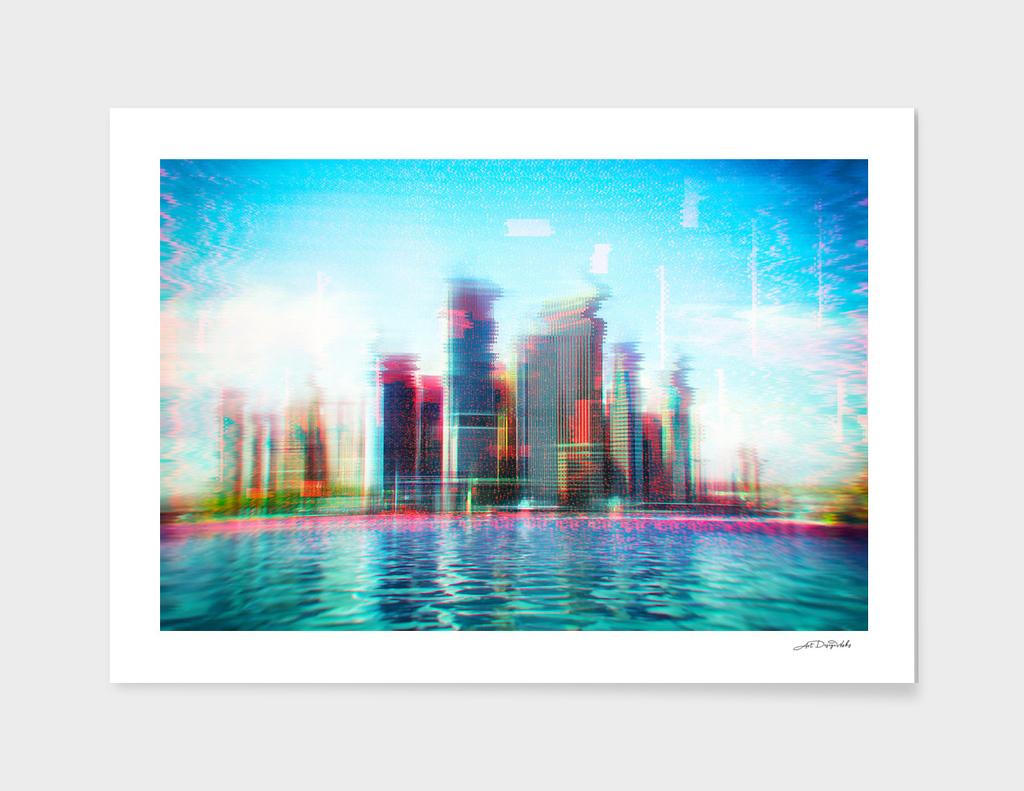 Glitch - I - Chromatic CityScape / LE