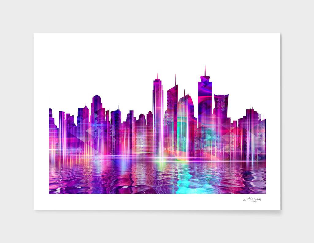 Artistic - XXVI - Abstract Cityscape / NE