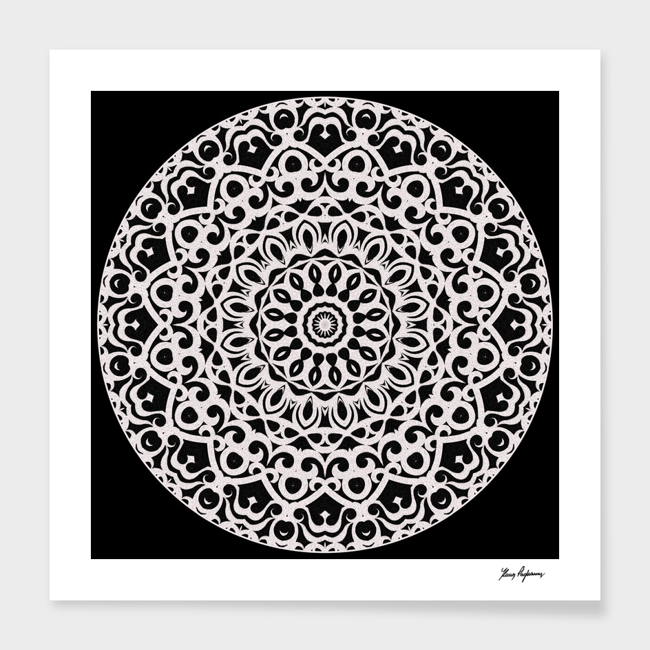 Tribal Mandala G385