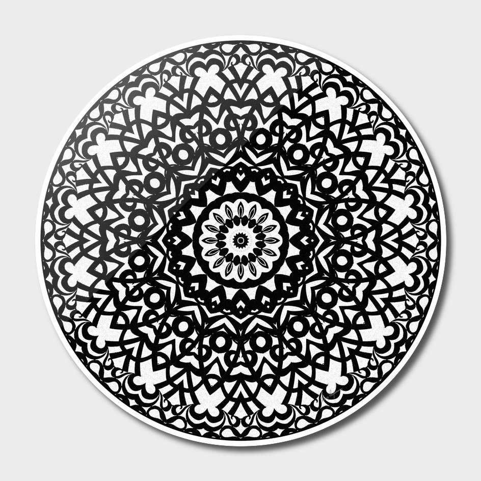 Tribal Mandala C4