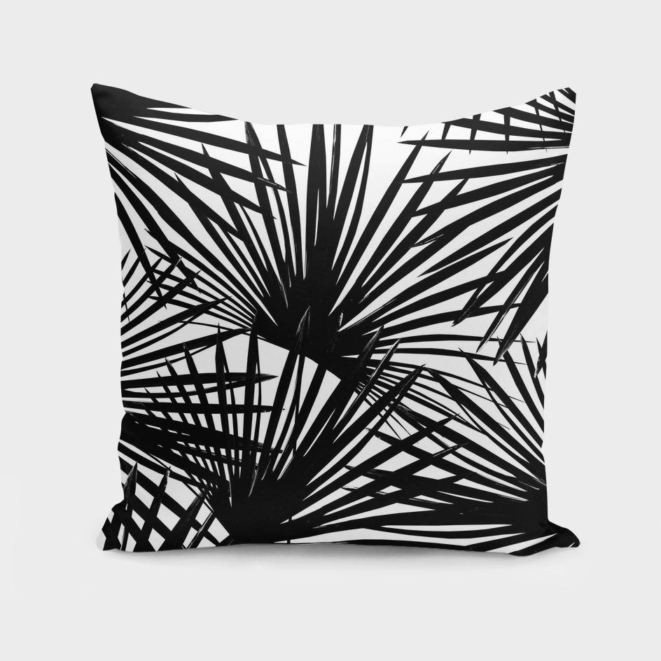 Tropical Fan Palm Leaves #2 #tropical #decor #art