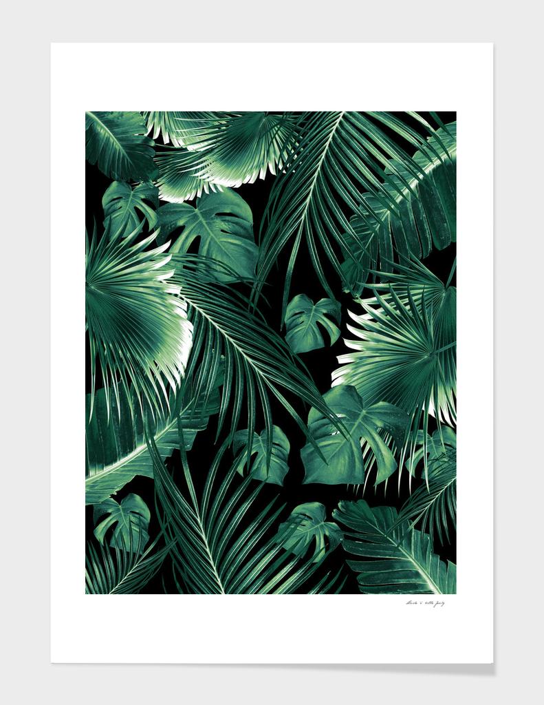 Tropical Jungle Leaves Dream #6
