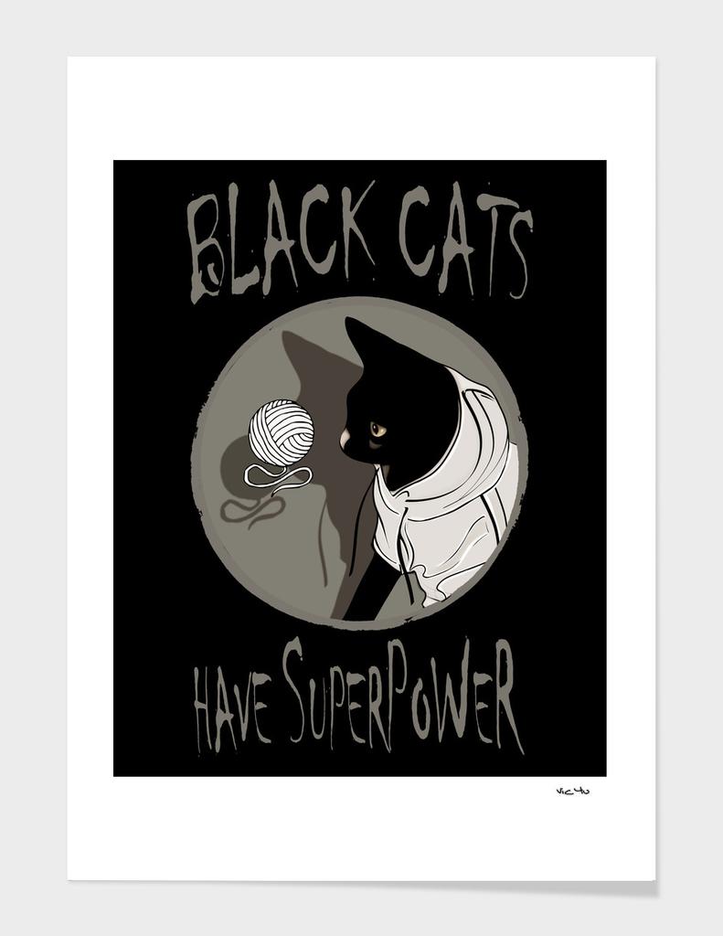 BLACK CATS SUPER POWER