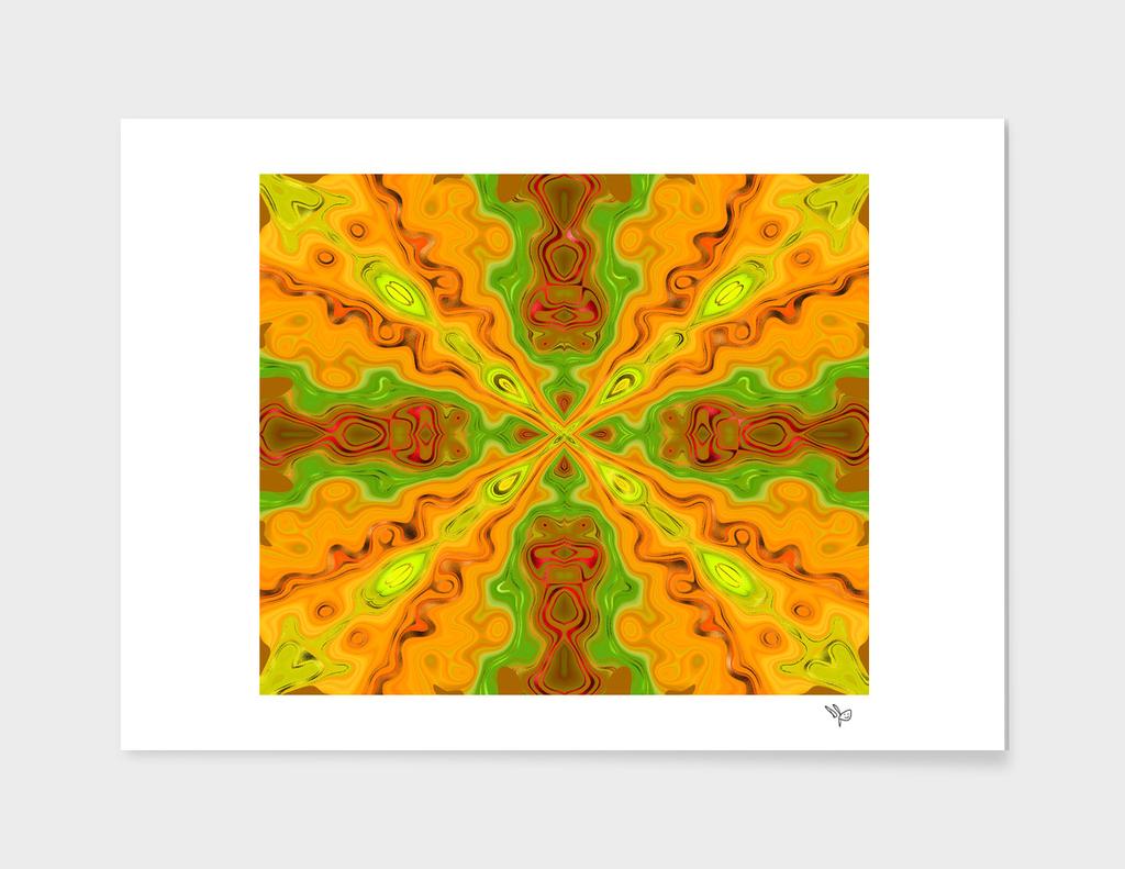 Orange Gold Focal