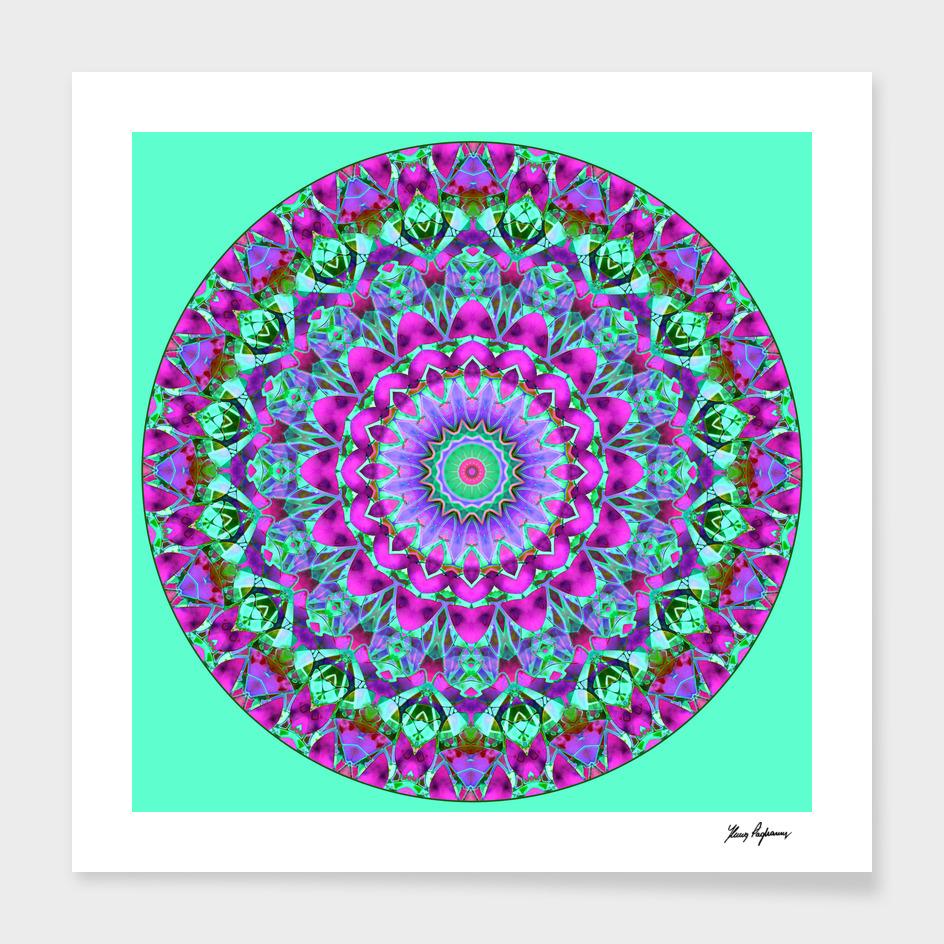 Geometric Mandala G386