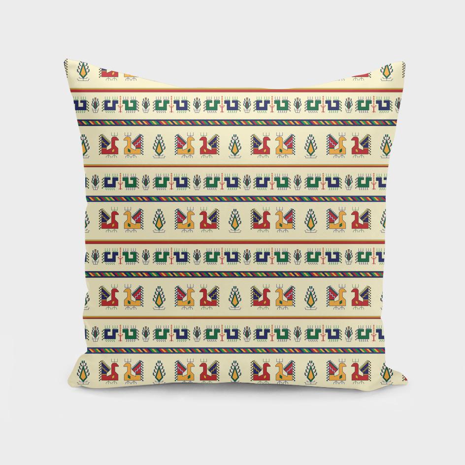 Traditional geometrical seamless pattern