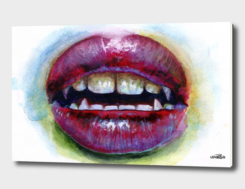 Lips study #3. Vamp