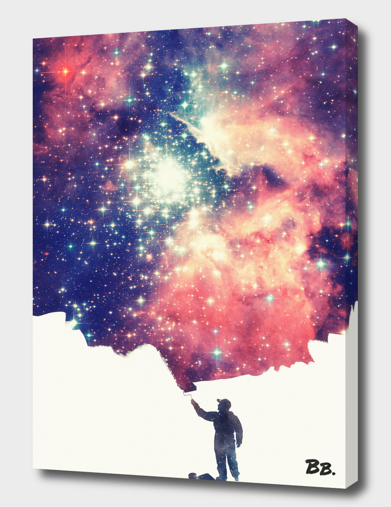 Painting the universe