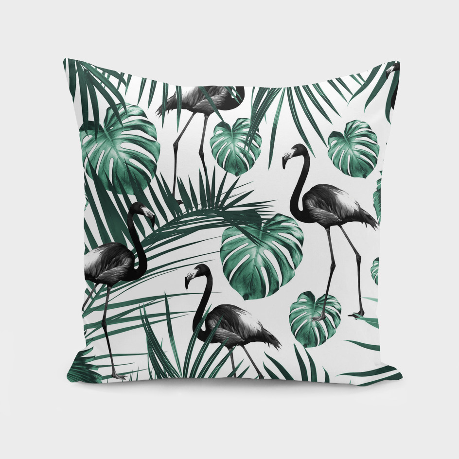 Tropical Flamingo Pattern #6