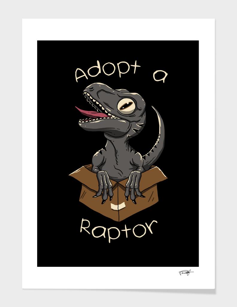 Adopt a Raptor - Color Sep  - For Wistitee