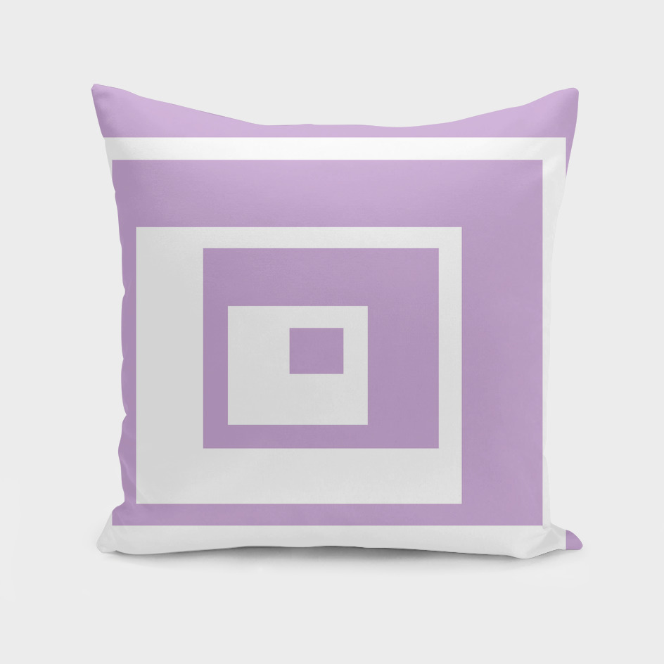 Abstract geometric pattern - purple and white.