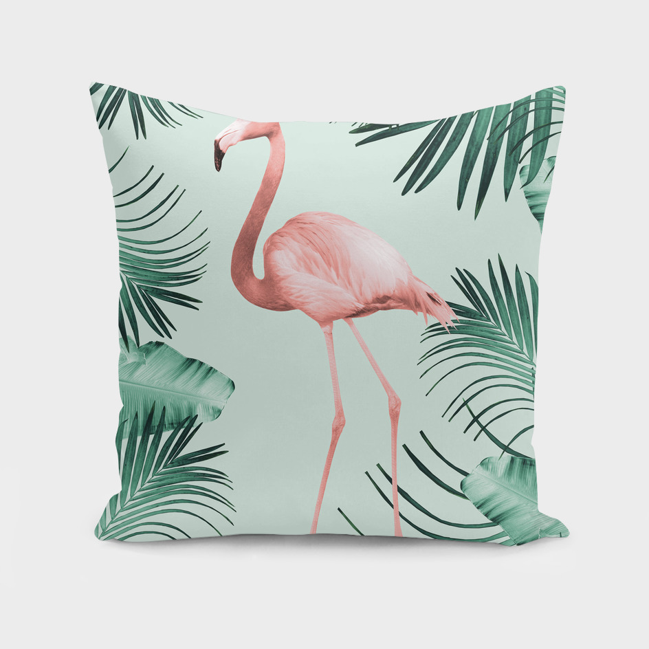 Flamingo in the Jungle #1