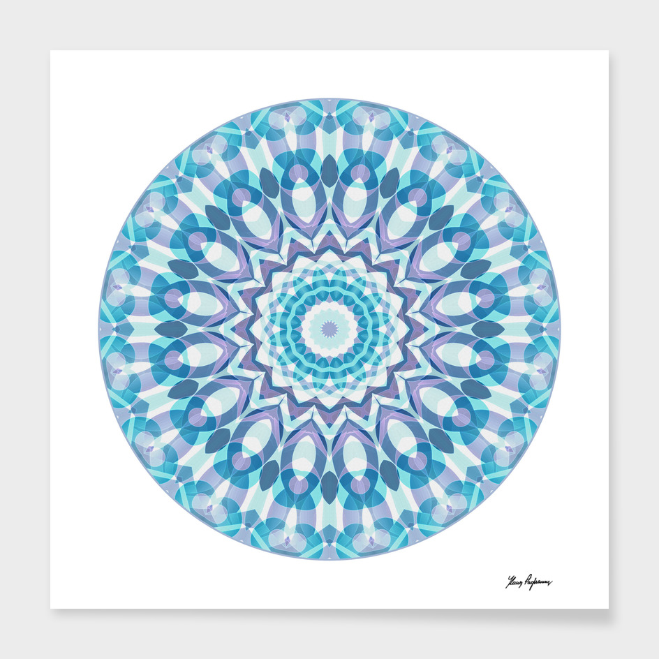 Tribal Mandala C8