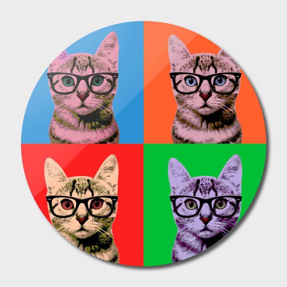 Warhol cat