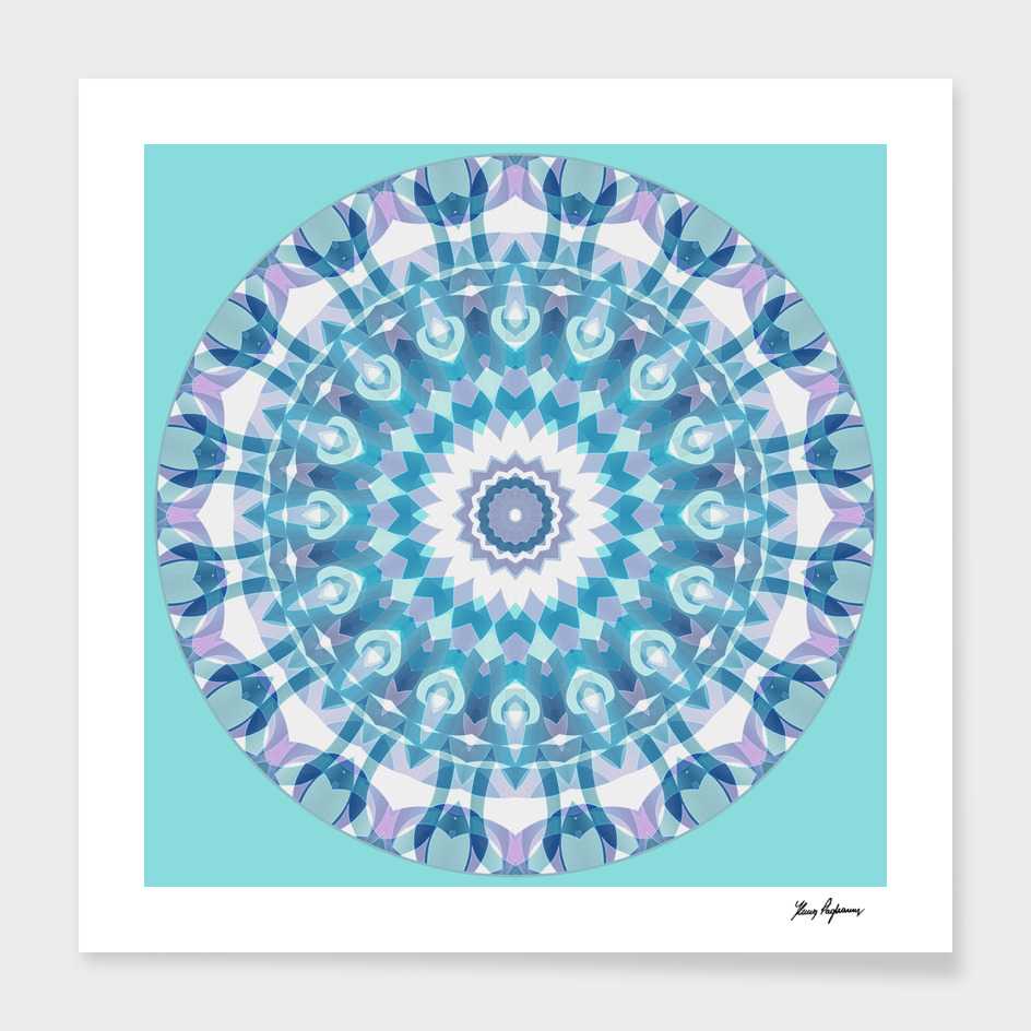 Tribal Mandala C10