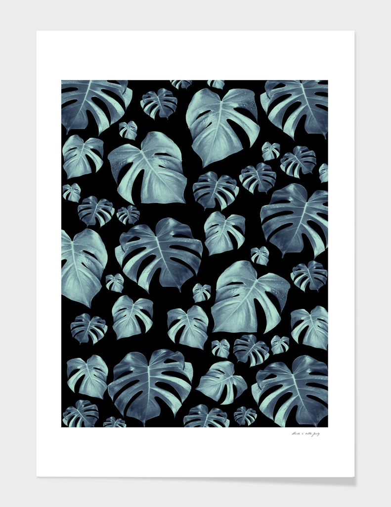 Tropical Monstera Pattern #5