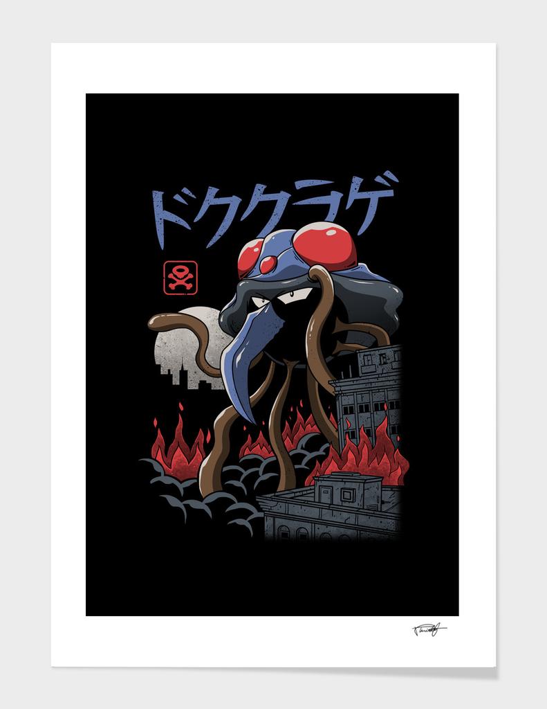 Poison Kaiju - Color Sep