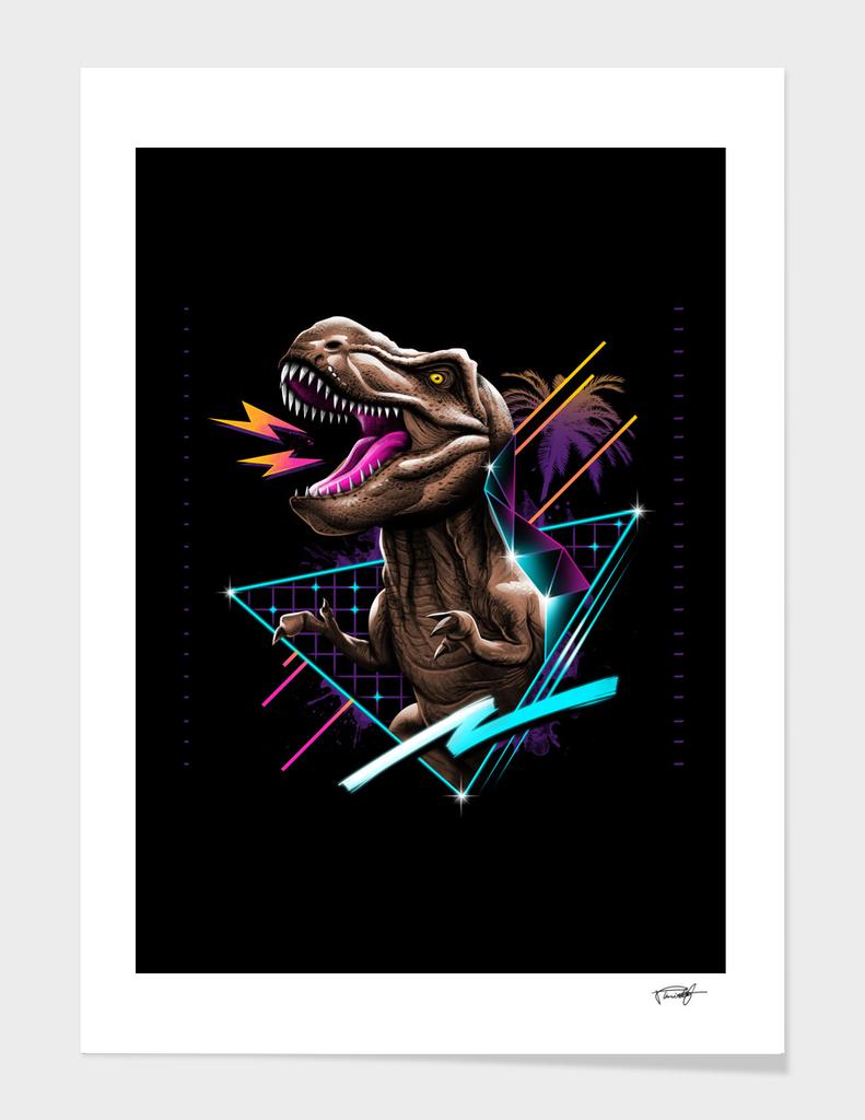 Rad T Rex -w texture -Color Sep