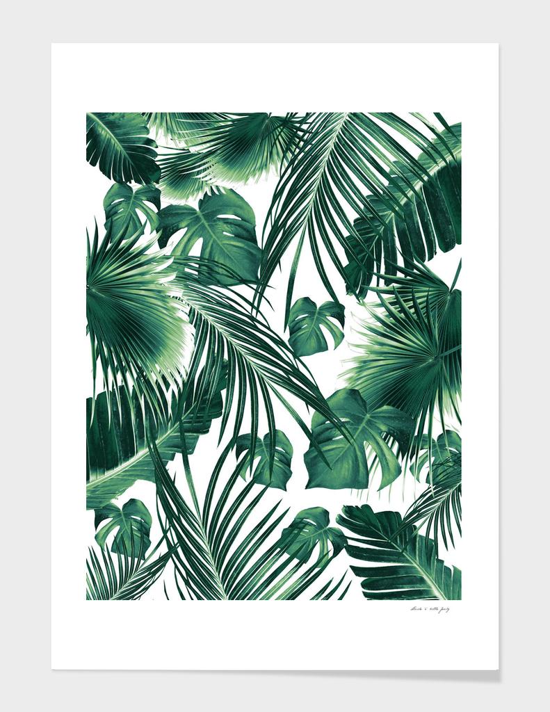 Tropical Jungle Leaves Dream #7