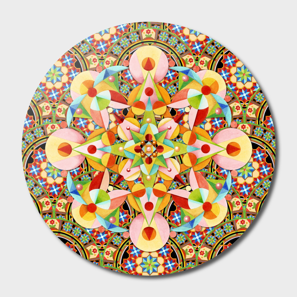 Playing Card Mandala