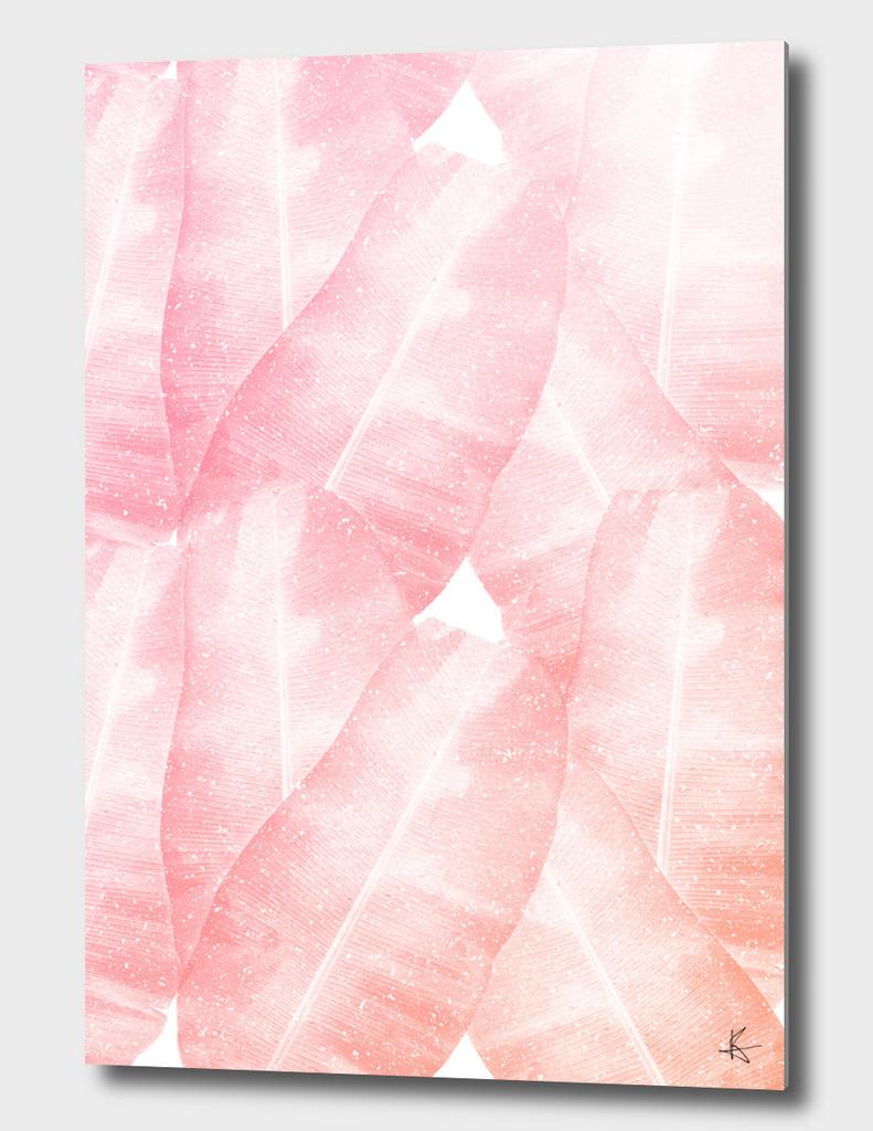 Banana Leaves Pink