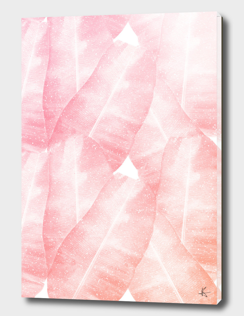 Banana Leaves Pink