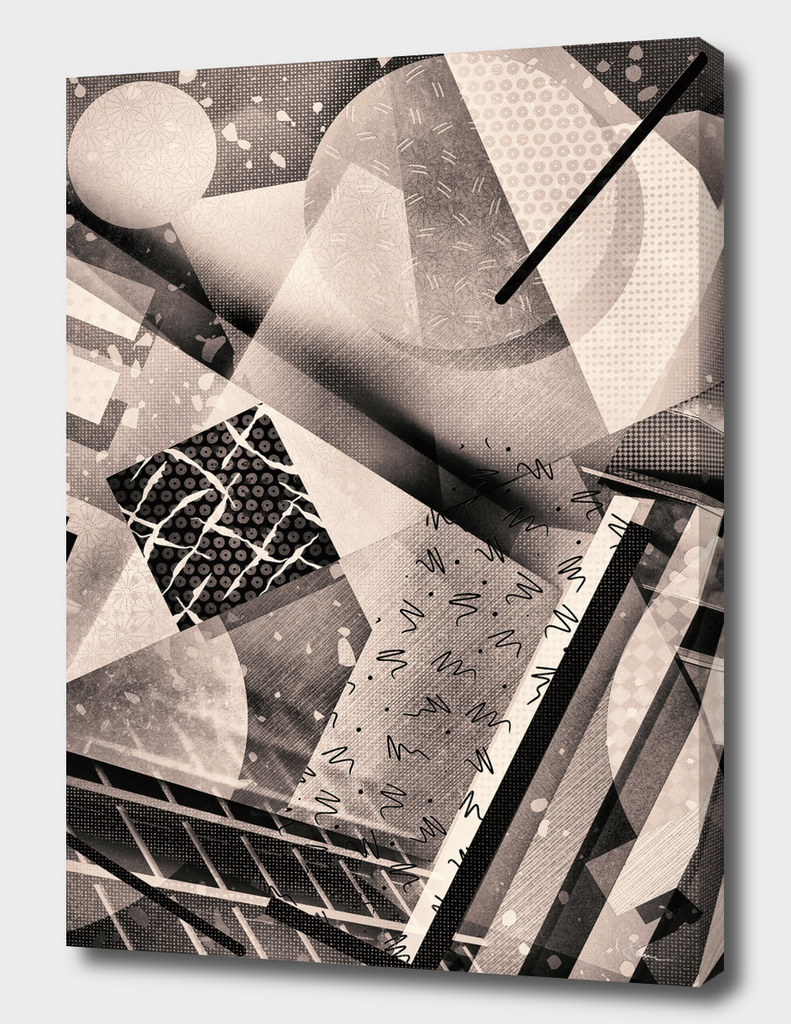 Bauhaus vs. Miami Vice  in b/w