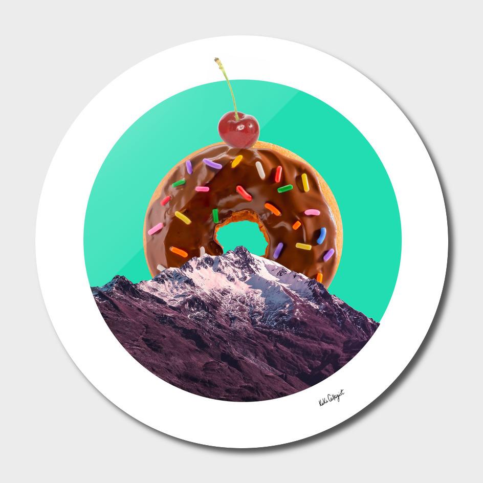 Mountain of sweet