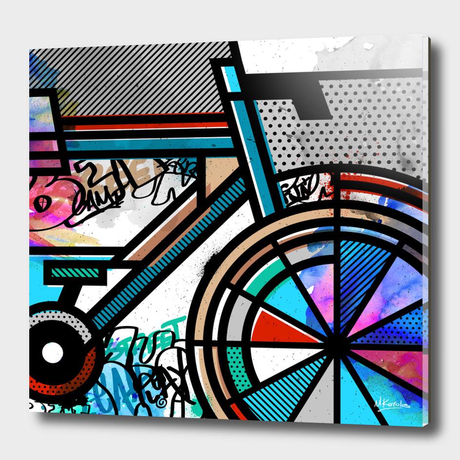 Orderly Vandalized: Bicycle